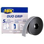 Afbeeldingen van Fixation Duo Grip à clip réajustable - noir 25mm x 2m